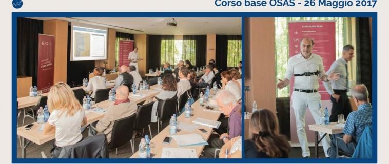 Gestione Pazienti OSAS – Corso base OSAS del 26 Maggio 2017