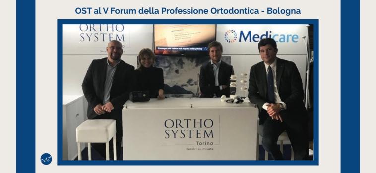 Orthosystem Torino al V Forum della Professione Ortodontica: aumenta l'interesse nei confronti delle OSAS