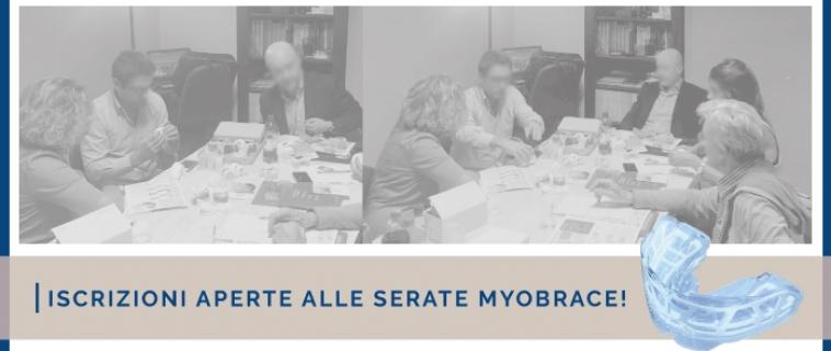 Iscrizioni aperte alle serate MyoBrace!