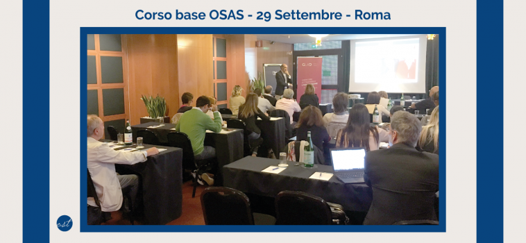 Gestione Pazienti OSAS – Corso base OSAS del 29 Settembre 2017